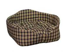 Лежак для домашних животных Мур-Мяу Элегант-2 Коричневый (hub_qAPe08891)