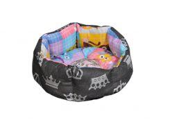 Лежак для домашних животных Мур-Мяу Зефирка Мини Разноцветный (hub_LgCj77981)