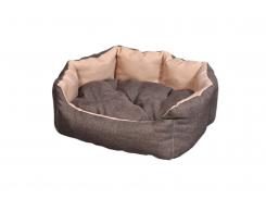 "Лежак для домашних животных Мур-Мяу ""Аллегро Мини"" Коричнево-бежевый (hub_cLvL0997855)"
