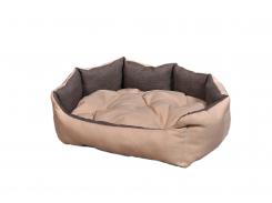 """Лежак для домашних животных Мур-Мяу """"Аллегро"""" Бежево-коричневый (hub_cLvL09941)"""