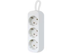 Сетевой фильтр Defender E318 1.8 m 3 роз White (99221) (6358101)