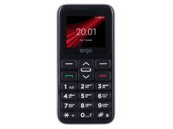 Мобильный телефон ERGO F186 Solace Dual Sim Silver (6447393)