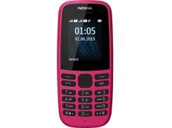 Мобильный телефон Nokia 105 (TA-1174) Pink (6511307)