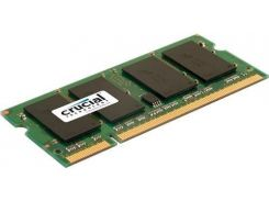Оперативная память SO-DIMM 2GB/800 DDR2 Crucial (CT25664AC800.Y16F) - Refubrished