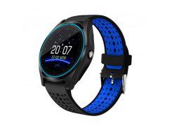 Умные часы Smart Smart Watch V9 Black/Blue (SWV9BLB)
