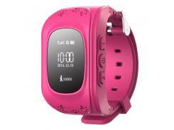 Детские умные GPS часы Q50 pink (SBWQ50P)