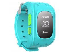 Детские умные GPS часы Q50 blue (SBWQ50B)