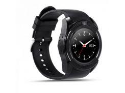 Умные смарт-часы Smart Watch V8 Black (A644463019)