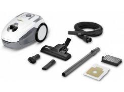 Пылесос для сухой уборки Karcher VC 2 Premium Белый/Серый (1.198-111.0)