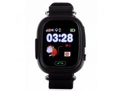 Детские часы с GPS Smart Baby Watch Q90-PLUS Черные
