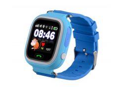 Детские умные смарт часы с GPS Smart Baby Watch Q90-PLUS Голубые