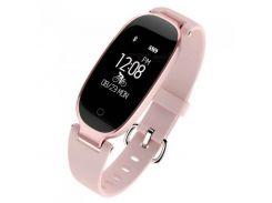 Фитнес браслет Smart Band SiMax S3 Girl Светло-розовый (SBS3GPG)