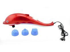 Массажер для тела Dolphin Красный (15-1DOL)
