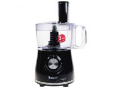 Кухонный комбайн SATURN ST-FP7072 Черный (397388)