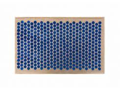 Массажный коврик Onhillsport Maxi аппликатор Кузнецова Lounge 80 х 50 см Синий (LS-1000)