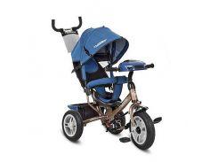 Велосипед трехколесный Turbo Trike M 3115HAJ-13 Синий с коричневым (int_M 3115HAJ-13)