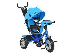 Велосипед трехколесный Turbo Trike M 3115-5HA Голубой (int_M 3115-5HA)