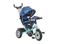 Велосипед детский Turbo Trike M 3115HAJ-15 12/10 Джинс-Бирюзовый (int_M 3115HAJ-15)