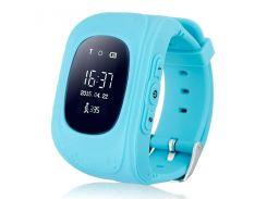 Детские смарт-часы Smart Baby Watch Q50 с GPS трекер Blue (FL-136)