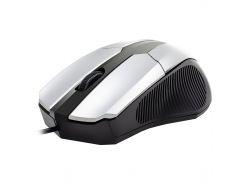 Мышь компьютерная Apedra M3 проводная Silver (3234-9643)