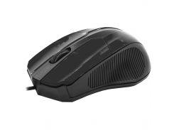 Мышь компьютерная Apedra M3 проводная Black (3234-9640)
