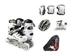 Набор роликовые коньки Scale Sport 29-33 White