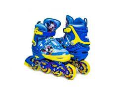 Комплект роликов Disney Mickey Mouse 34-37 Синий с желтым (1453798468)