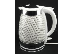 Электрочайник дисковый керамический А-Плюс 2147 2 л Белый (220002)
