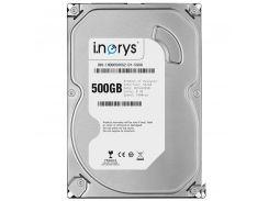 Жесткий диск i.norys 500GB 5900 rpm 8MB (INO-IHDD0500S2-D1-5908) для ПК SATA II (1043-1029)