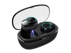 Беспроводная Bluetooth гарнитура Kumi T5S Black (3804-10604)