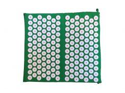 Массажный коврик для ног Rao аппликатор Кузнецова 45х42 см Зеленый (28901)