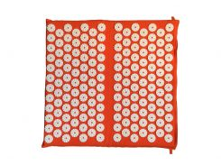 Массажный коврик для ног Rao аппликатор Кузнецова 45х42 см Оранжевый (28905)