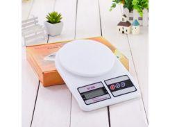 Кухонные весы электронные SF-400 Белый (Bhjdr34003)