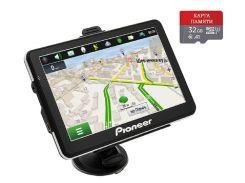 Автомобильный GPS-навигатор Pioneer Pi7215 TRUCK + КАРТА ПАМЯТИ 32GB (pi_7215215)