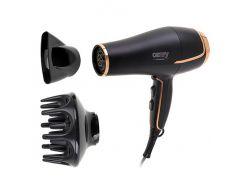 Фен для волос Camry CR 2255 с диффузором 2200 W Черный (5902934834728)