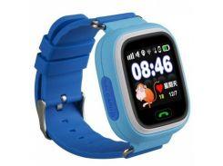 детские cмарт-часы uwatch q90 blue (1058-7794)