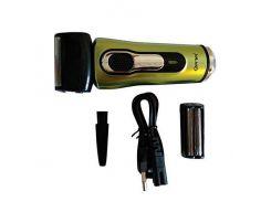 Электрическая бритва для сухого бритья Gemei GM-7110 со съемной головкой (М9954)