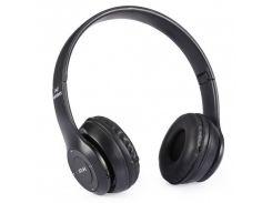 Беспроводные Bluetooth наушники MDR P47 BT с MP3 плеером Черный (258552)