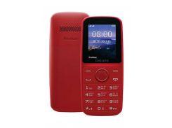 Philips Xenium E109 Dual Sim Red