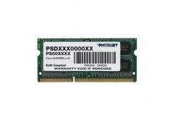 оперативная память so-dimm 8gb/1600 ddr3 1.5в patriot signature line (psd38g16002s)