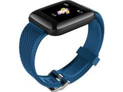Смарт-часы ID116 Plus D13 с измерением давления Синие (97967)