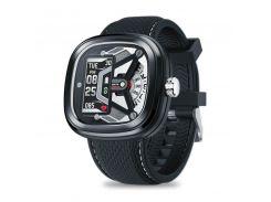 Гибридные смарт-часы Zeblaze Hybrid 2 Черные (345-1)