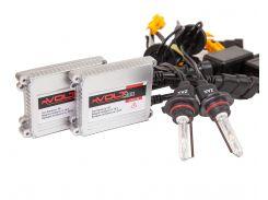 Комплект ксенона rVolt slim 35W 9-16V Zax ceramic HB3 (9005) 8000K