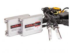 Комплект ксенона rVolt slim 35W 9-16V Zax ceramic H3 6000K