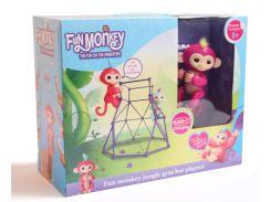 Комплект Fingerlings Jungle Gym PlaySet + интерактивная обезьянка Aimee (228924285)