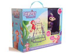 Комплект Fingerlings Jungle Gym PlaySet + интерактивная обезьянка Mia (207233733)