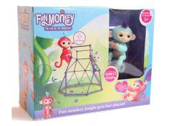 Комплект Fingerlings Jungle Gym PlaySet + интерактивная обезьянка Zoe (606206102)