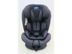 Детское автомобильное кресло LINDO Темно-серый (HB 636)