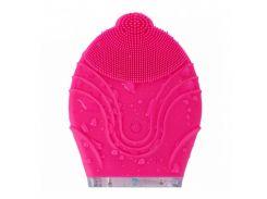 Силиконовая щетка-массажер Kingdom KD-308 Pink (4123-12012a)