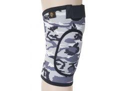 Бандаж для коленного сустава и связок, закрыт ARMOR ARK2106 размер L, серый (6358854)